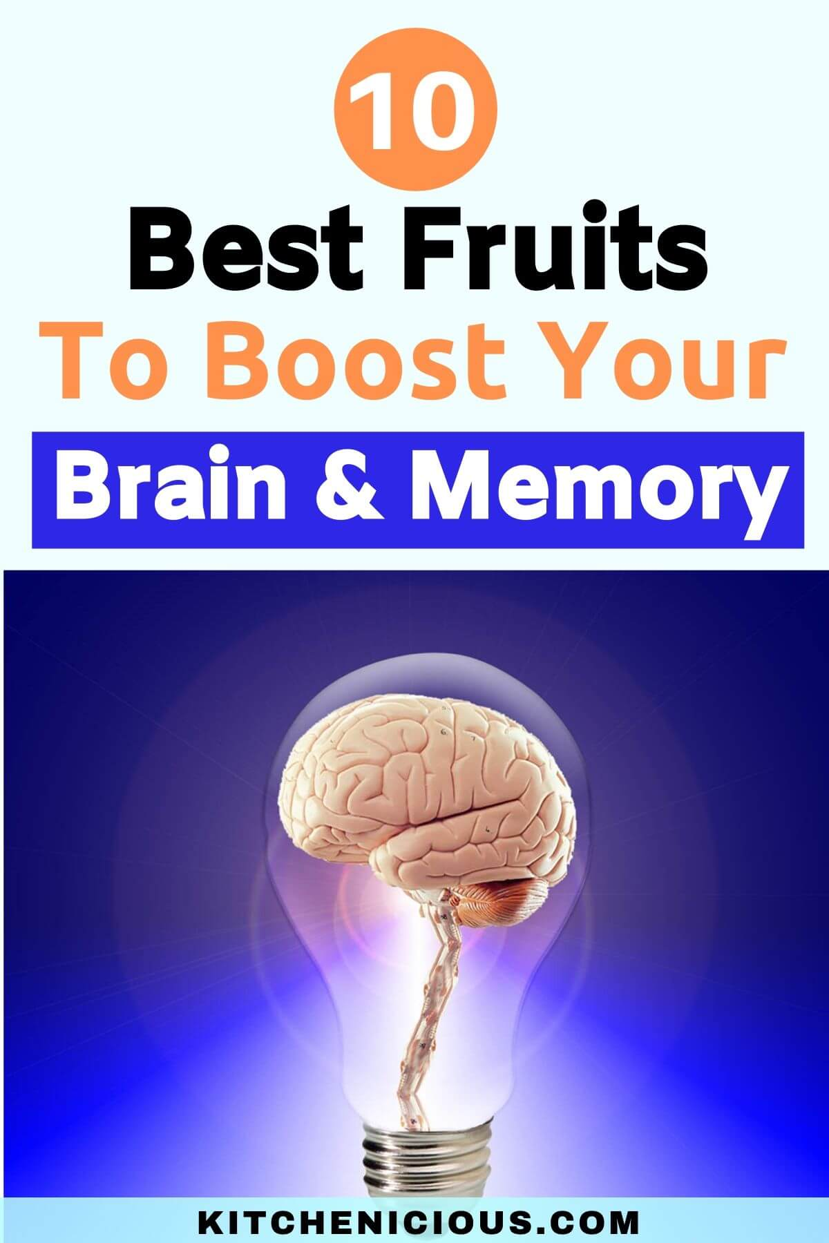 best fruits to improve your brain and memory