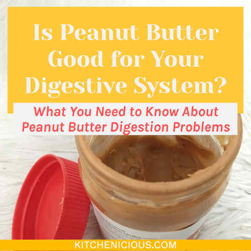 Peanut Butter Digestion Problems: Is Peanut Butter Good for Your Digestive System?