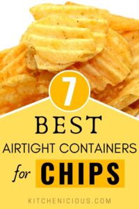 best airtight food storage containers for chips, chips container pantry ideas